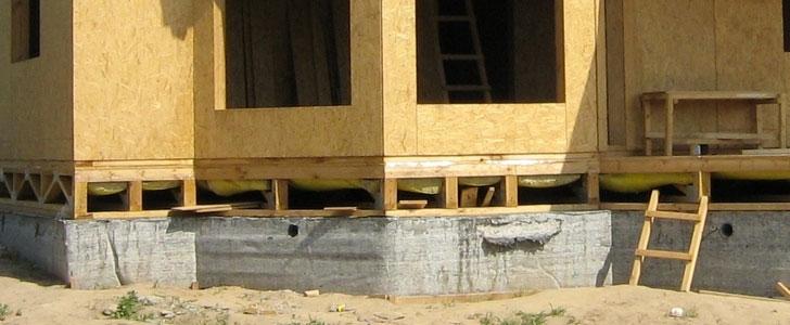 Заливка ленточного фундамента под забор в Балашихе